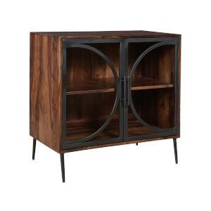 Cadence Nut Brown Black Cabinet