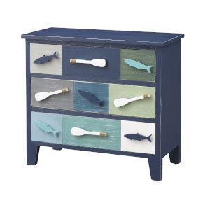 Something Fishy Blue Multi Cabinet
