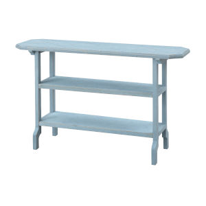 Clear Sailing Blue Sky Accent Table