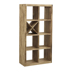 Boardwalk Brown Bookcase