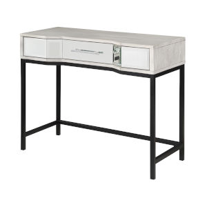 Gabby White Black Console Table