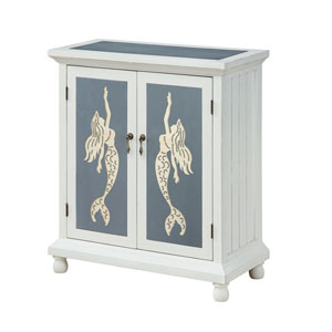 Two Door Cabinet in White