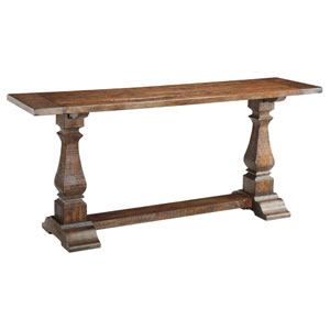 Pine Wood Console Table