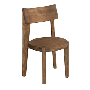 Acacia Brown Dining Chair Set of 2