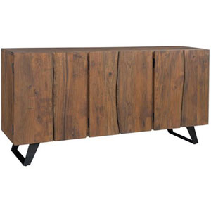 Acacia and Iron Sequoia Sideboard