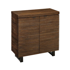 Brown Two Door Cabinet