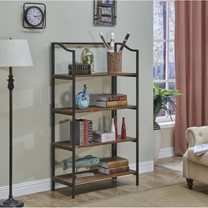 Bookcase, Domingo Natural Brown