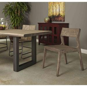 Tundra Set of 2 Wood Dining Chairs, Tundra Smokey Grey