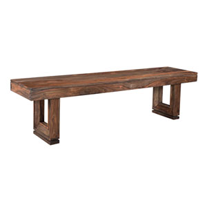Brownstone Dining Bench, Brownstone Nut Brown