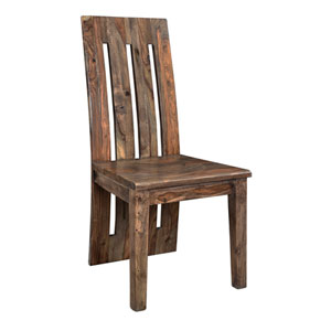 Brownstone Set of 2 Dining Chairs, Brownstone Nut Brown