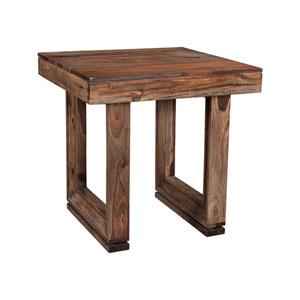 Brownstone End Table, Brownstone Nut Brown