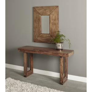 Brownstone Console Table, Brownstone Nut Brown