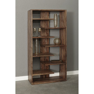 Brownstone Bookcase, Brownstone Nut Brown