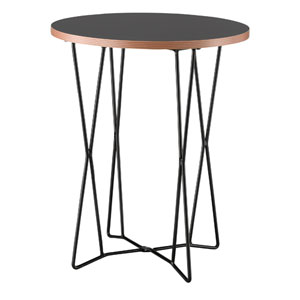 Network Black End Table