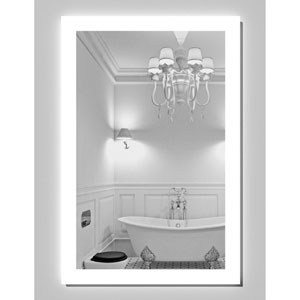 Civis LED 24x36-Inch Angel Lighted Mirror
