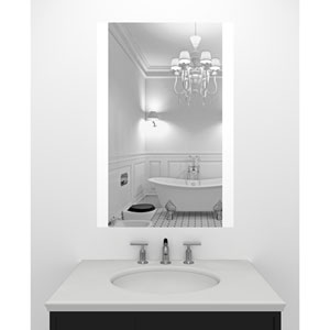 Civis LED 24x 36-Inch Charli Lighted Mirror