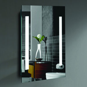 Alex 20 x 24-Inch LED Lighted Wall Mirror by Civis USA