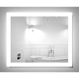 Angel 32 x 26-Inch Lighted Bluetooth Mirror by Civis USA