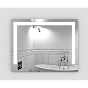 Hanna 36 x 28-Inch Lighted Mirror by Civis USA