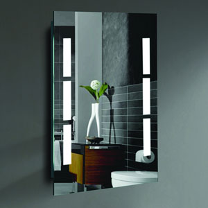 Sally 24 x 36-Inch LED Lighted Wall Mirror by Civis USA