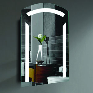Sara 24 x 36-Inch LED Lighted Wall Mirror by Civis USA
