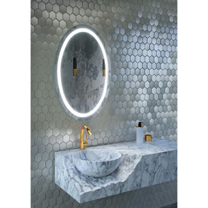Civis LED 24x 36-Inch Victoria Lighted Mirror