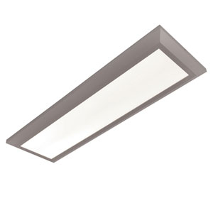 Atlas Satin Nickel 50-Inch LED Linear Troffer