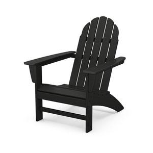 Vineyard Black Adirondack Chair