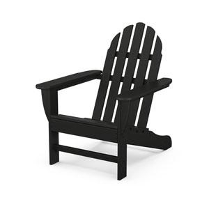 Classic Black Adirondack Chair