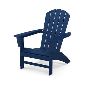 Nautical Navy Adirondack Chair