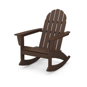 Vineyard Mahogany Adirondack Rocking Chair