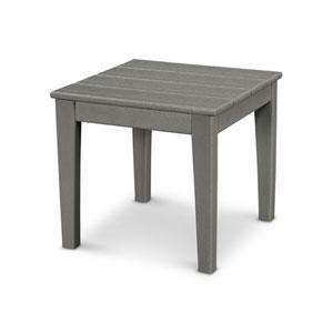 Newport Slate Grey 18-Inch End Table