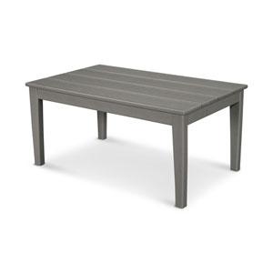 Newport Slate Grey 22-Inch x 36-Inch Coffee Table