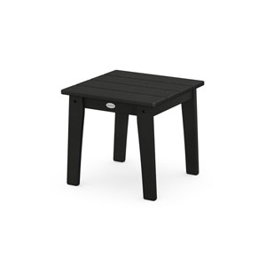 Lakeside Black End Table