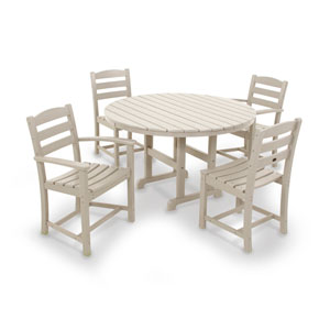La Casa Cafe Sand Dining Set, 5-Piece