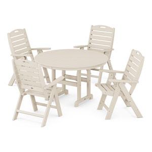 Nautical Sand Dining Set, 5-Piece