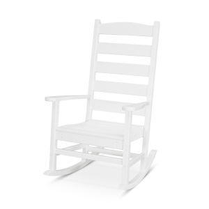 Shaker White Porch Rocking Chair
