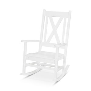 Braxton White Porch Rocking Chair