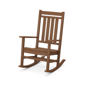 Estate Teak Rocking Chair