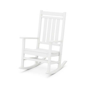 Estate White Rocking Chair