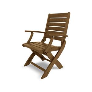 Signature Folding Chair in Teak