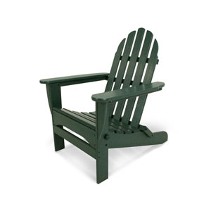Classic Adirondack Green Chair