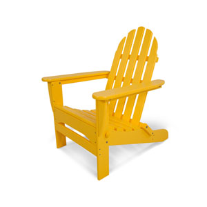 Classic Adirondack Lemon Chair