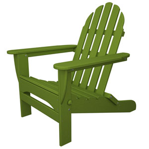 Classic Adirondack Lime Chair