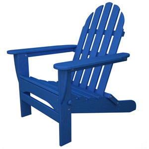 Classic Adirondack Pacific Blue Chair