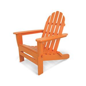 Classic Adirondack Tangerine Chair