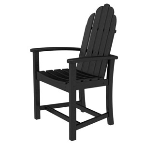 Adirondack Dining Black Chair