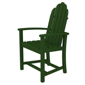 Adirondack Dining Green Chair