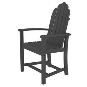 Adirondack Dining Slate Grey Chair
