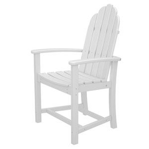 Adirondack Dining White Chair